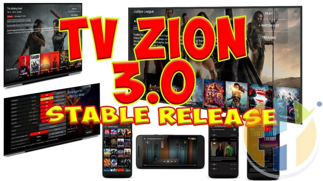 TVZION V3 APK Stable Release Finally Out MOVIES TV SHOWS FIRESTICK