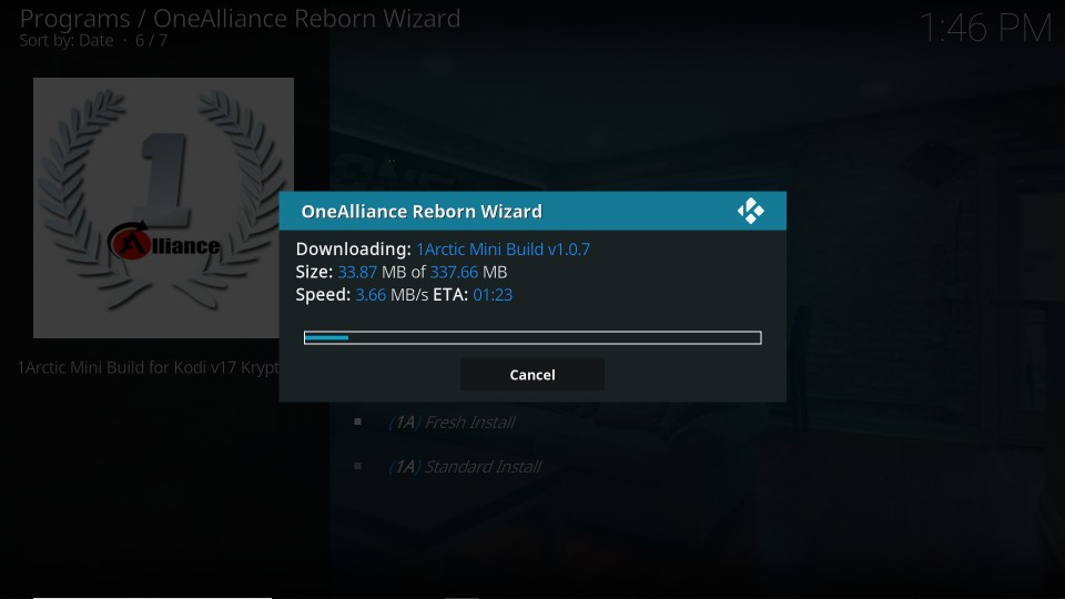 download One Alliance Reborn builds