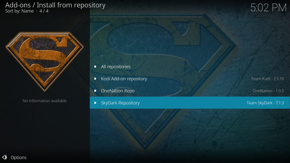 skydark repository
