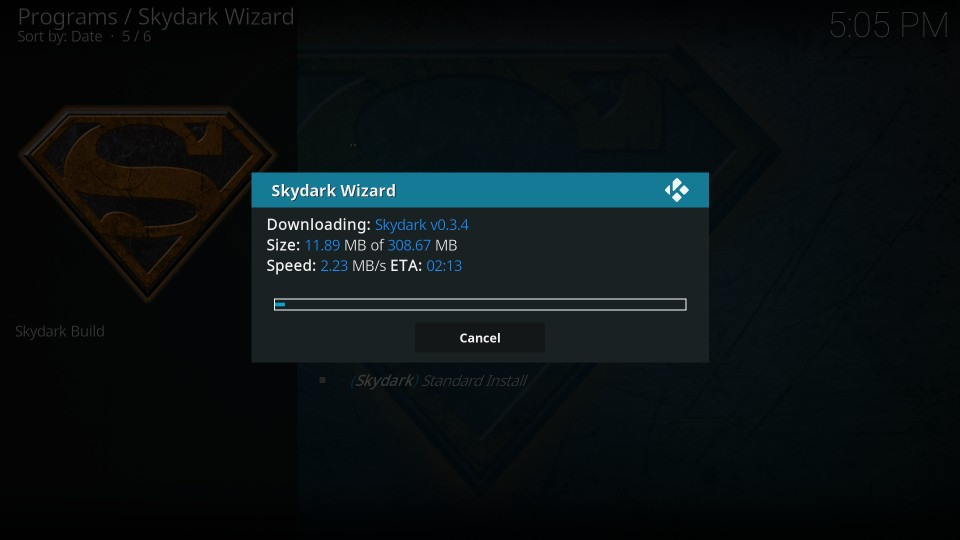 download SkyDark build