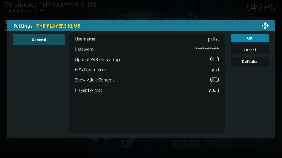the players klub iptv kodi addon