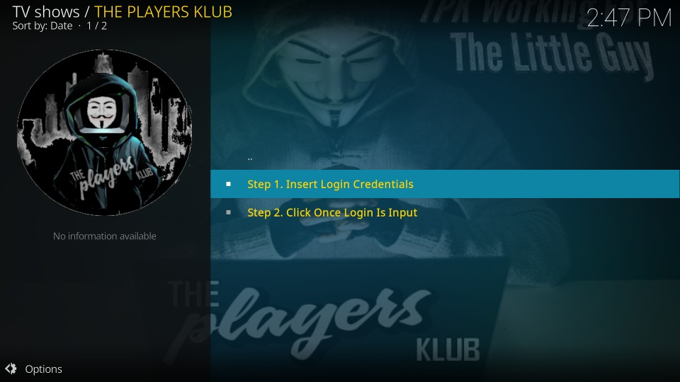 the players klub live streaming