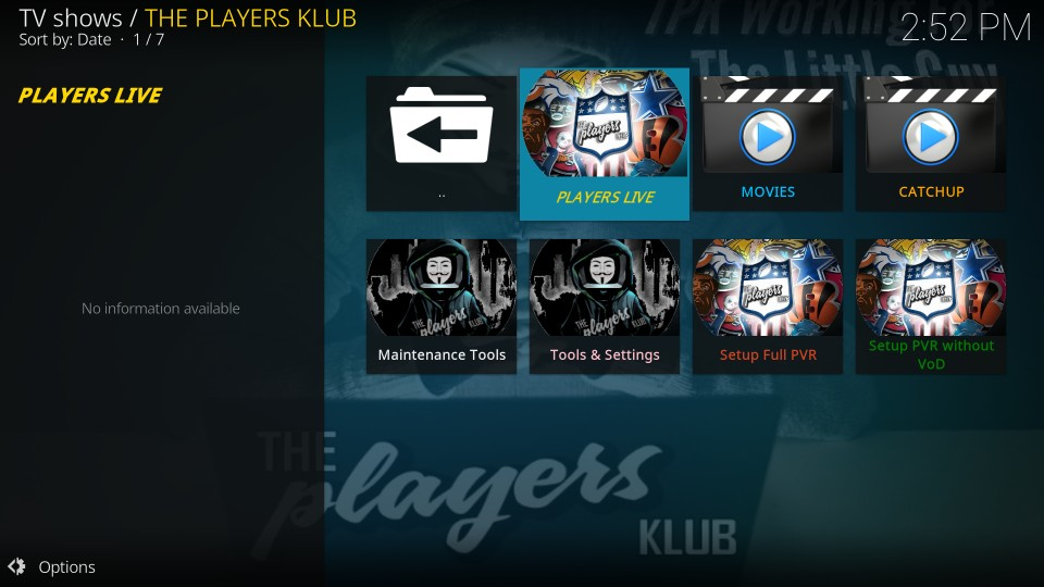 how to use the players klub iptv