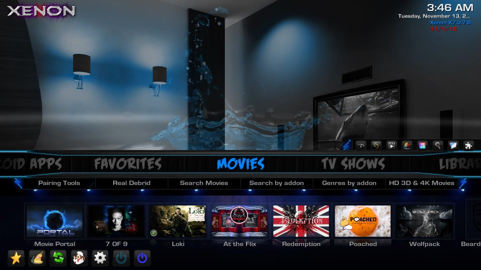 how to use diggz xenon kodi build