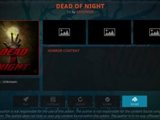 Dead of Night Addon Guide