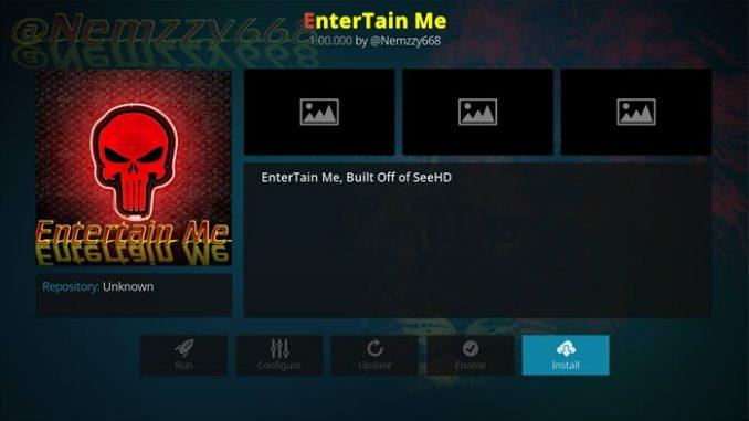 Entertain Me Addon Guide - Kodi Reviews