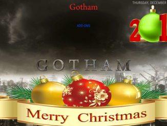 Gotham Xmas Build 1