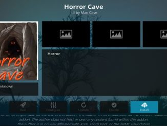 Horror Cave Addon Guide - Kodi Reviews