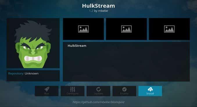 Hulkstream Addon Guide - Kodi Reviews