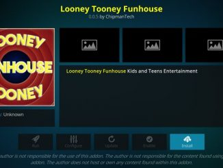 Looney Tooney Funhouse Addon Guide