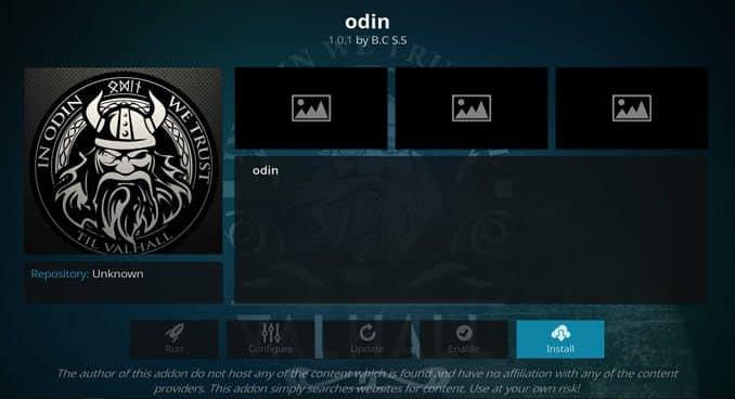 Odin Addon Guide - Kodi Reviews