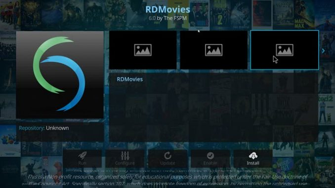 RDMovies Addon Guide - Kodi Reviews