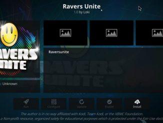 Ravers Unite Addon Guide - Kodi Reviews