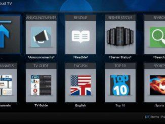 cCloud TV Addon Guide - Kodi Reviews