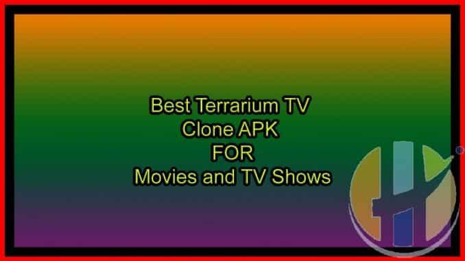 Best Terrarium TV Clone APK for Movies and TV Shows - Cyberflix APK