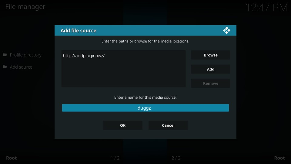 how to get duggz kodi build