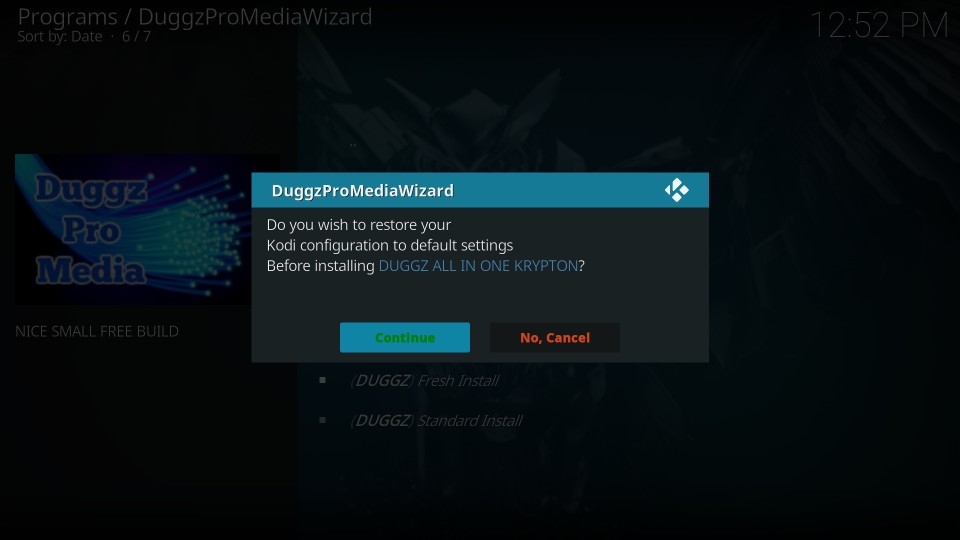 how to install duggz build on kodi