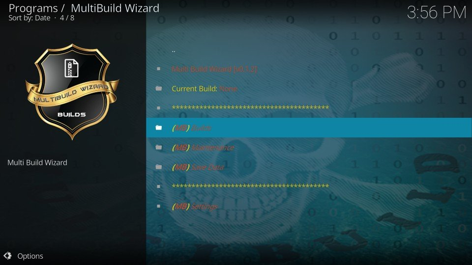how to load silvo build on kodi