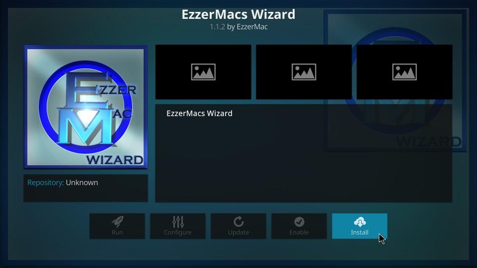how to install ezzermacs wizard on kodi