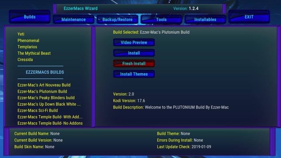easy install for plutonium build