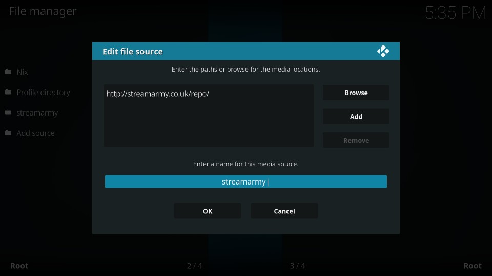 install yify movies hd from streamarmy repo