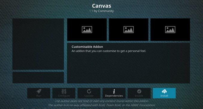 Canvas Addon Guide - Kodi Reviews