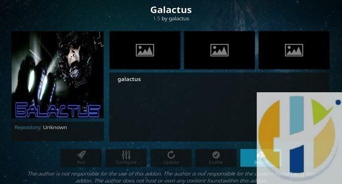 Galactus Addon Guide - Kodi Reviews