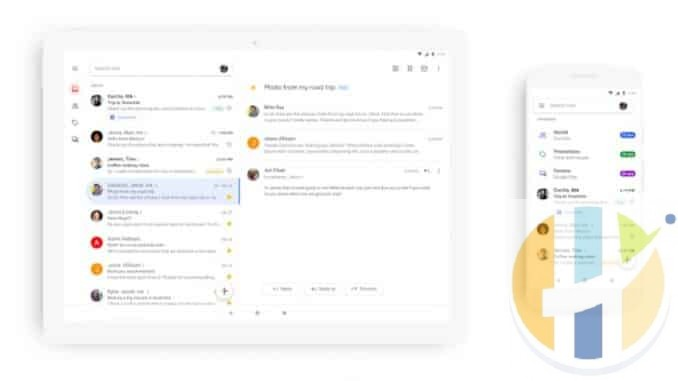 gmail mobile redesign