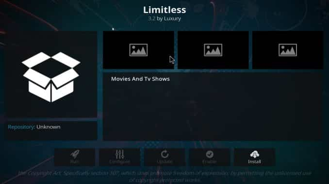 Limitless Addon Guide - Kodi Reviews