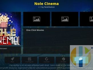 Nole Cinema Addon Guide - Kodi Reviews