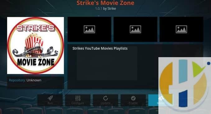 Strike's Movie Zone Addon Guide