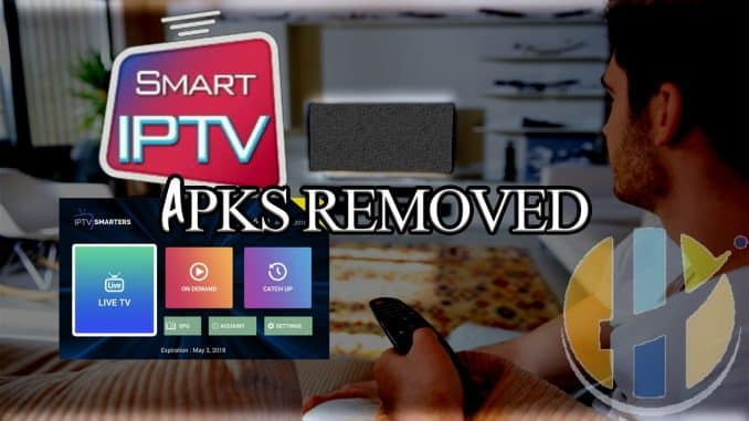 Smart IPTV and IPTV Smarters removed from Google Palystore