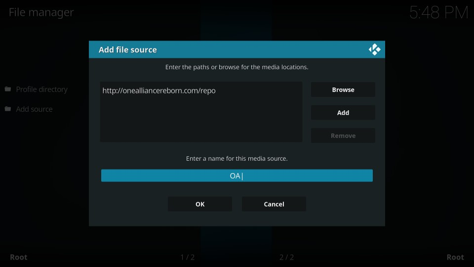 install 1amazing build on kodi
