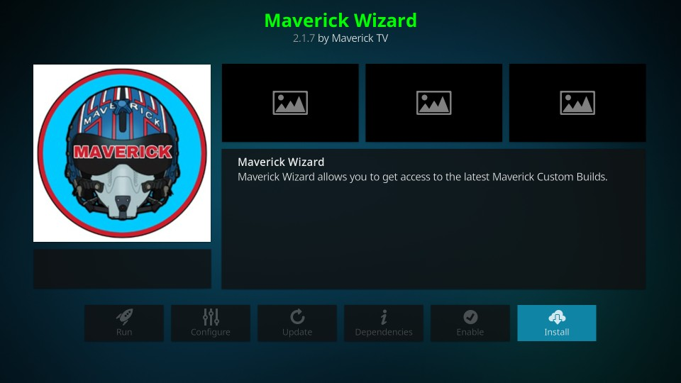 how to install maverick wizard on kodi