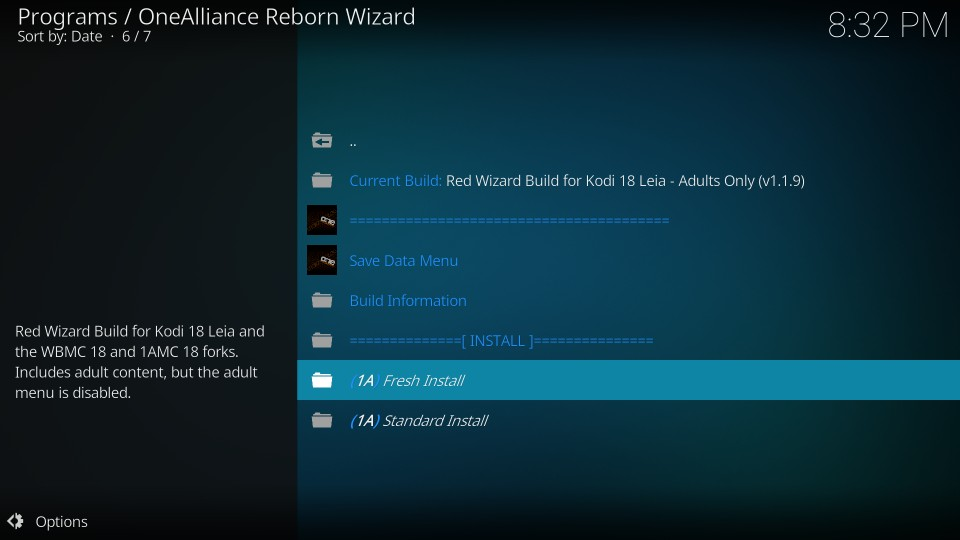 How to Install Red Wizard Build on Kodi 18 0 Leia