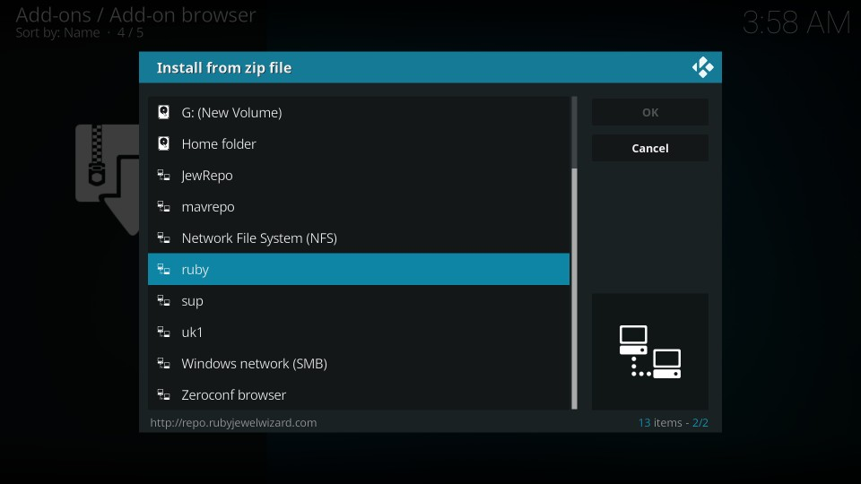 movie theater butter on kodi