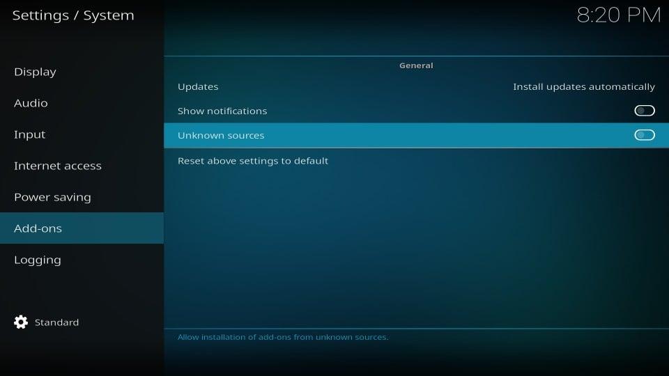steps to install mc 1080p addon on kodi