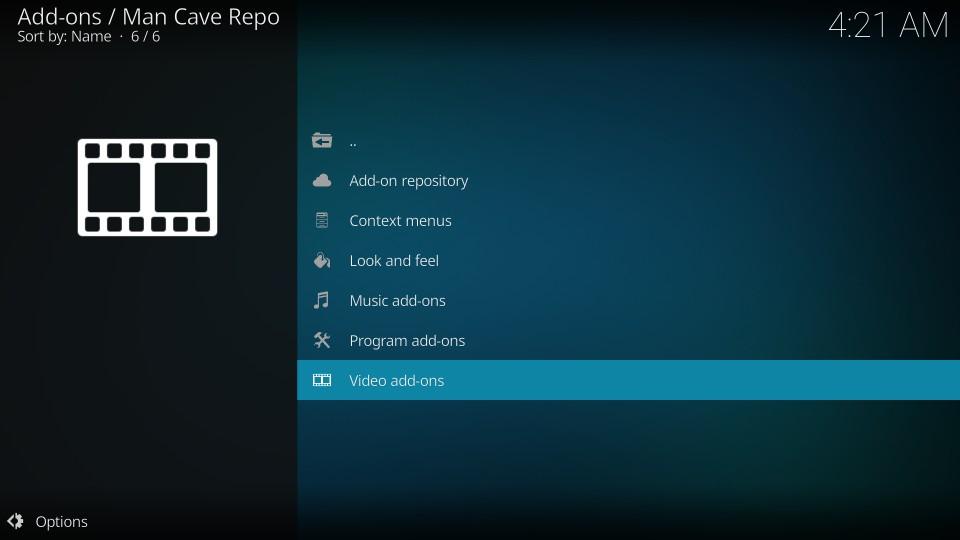 man cave repo for mc 1080p addon