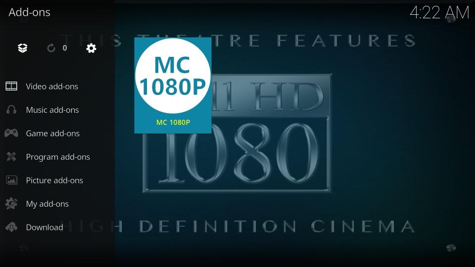how to install and use mc 1080p kodi addon