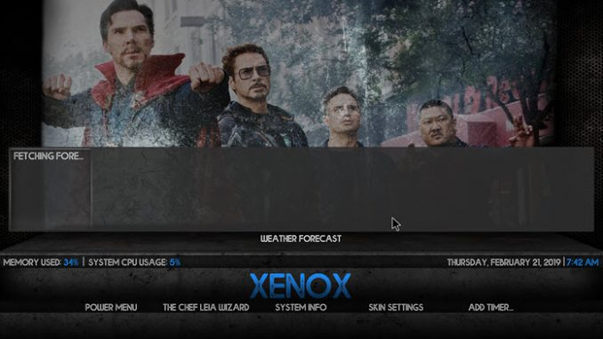 Xenox Build 1