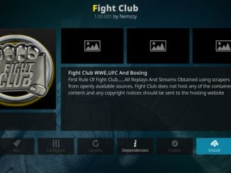 Fight Club Addon Guide - Kodi Reviews