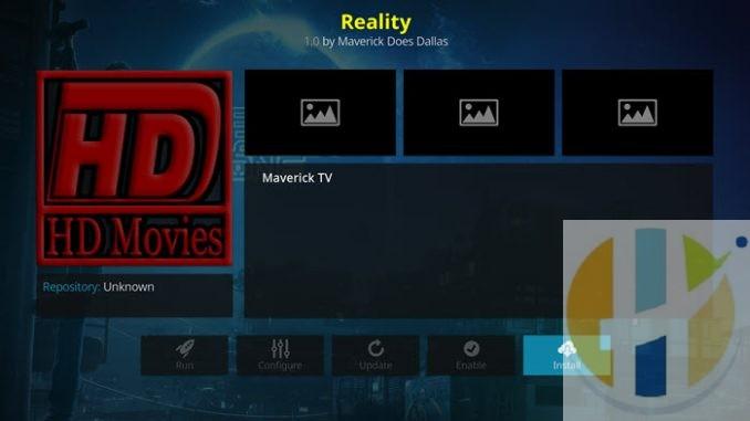 Reality Addon Guide - Kodi Reviews