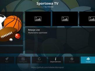 Sportowa TV Addon Guide - Kodi Reviews