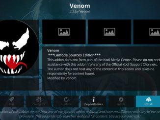 Venom Addon Guide - Kodi Reviews