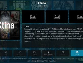 Xtina Addon Guide - Kodi Reviews