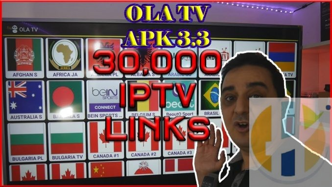 OLA TV APK 3 3 RELEASED LIVE TV from around world working