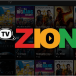 TVZion Streaming Application on Firestick or Android