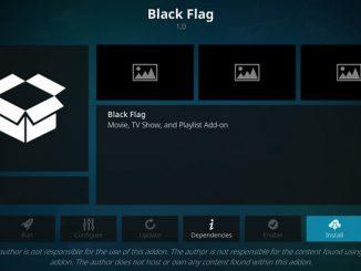 Black Flag Addon Guide - Kodi Reviews