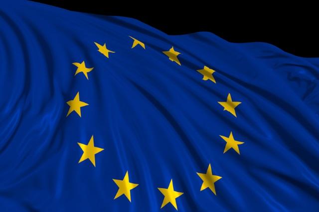 European flag render
