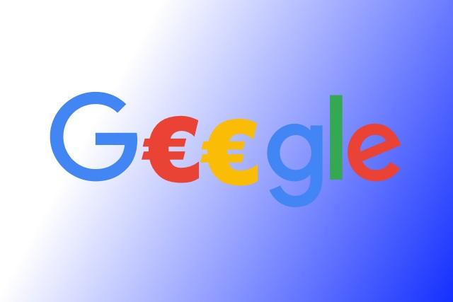 Google Euro symbol
